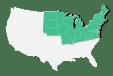 Mid America MAST Map Green-01